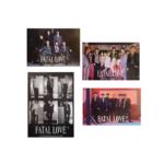 MONSTA X FATAL LOVE 3RD ALBUM OFFICIAL POSTERS (4 POSTERS SET)