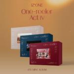 IZONE ONE-REELER ACT Ⅳ 4TH MINI ALBUM 3 ALBUMS SET