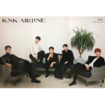 KNK KNK AIRLINE ALBUM OFFICIAL POSTER (OFF VERSION)