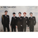 KNK KNK AIRLINE ALBUM OFFICIAL POSTER (ON VERSION)
