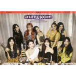 FROMIS9 MY LITTLE SOCIETY ALBUM POSTER (MY SOCIETY VER)
