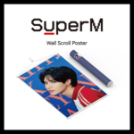 SUPERM OFFICIAL WALL SCROLL POSTER