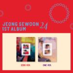 JEONG SEWOON 24 1ST ALBUM PART 2