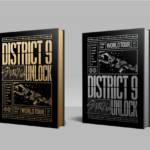 STRAY KIDS DISTRICT 9 UNLOCK WORLD TOUR DVD & BLURAY SET