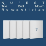 NU'EST ROMANTICIZE 2ND ALBUM 5 ALBUM SET [PRE]