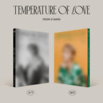 YOON JI SUNG TEMPERATURE OF LOVE 2ND MINI ALBUM 2 ALBUM SET [PRE]