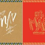 GOT7 MAD MINI ALBUM REPACKAGE WINTER EDITION MERRY & HAPPY VERSIONS