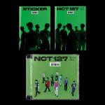 NCT 127 STICKER 3RD ALBUM STICKY & JEWEL CASE VERSION   US VER   3 ALBUM SET [PRE]