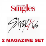 STRAY KIDS SINGLES 2021 MAGAZINE   2 MAGAZINE SET